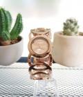 นาฬิกา WEIQIN สีทองชมพู สวยหรู premium