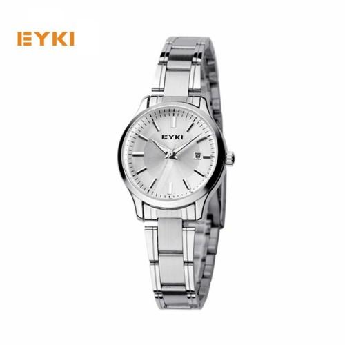 นาฬิกา EYKI สีเงิน สวย เรียบหรู คุณภาพดี