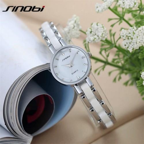 นาฬิกาสวยหรู สีขาว SINObi ดูดี แถมน่ารักสุดๆ