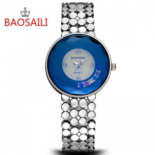 นาฬิกาจาก BAOSAILI สีเงิน พร้อมใส่ออกงาน สวยหรูสุดๆ