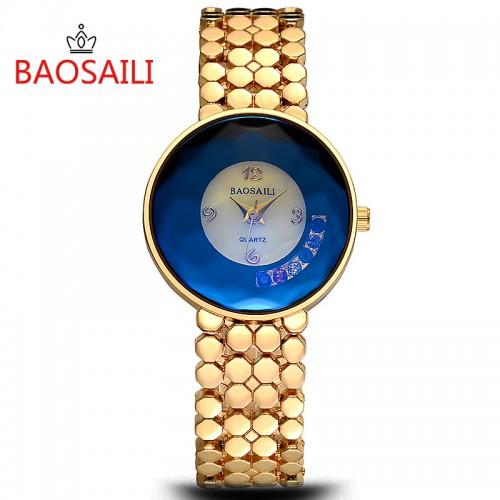 นาฬิกาจาก BAOSAILI สีทอง พร้อมใส่ออกงาน สวยหรูสุดๆ