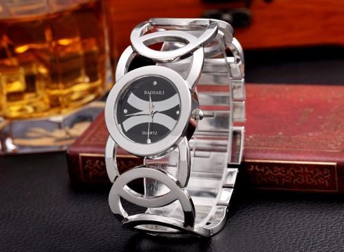 นาฬิกาใส่ออกงาน ใส่ทำงาน สีดำ สวยหรู premium