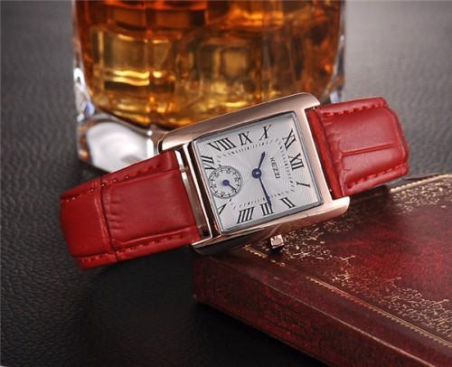 นาฬิกาสายหนัง KEZZI สวยๆ สีแดง