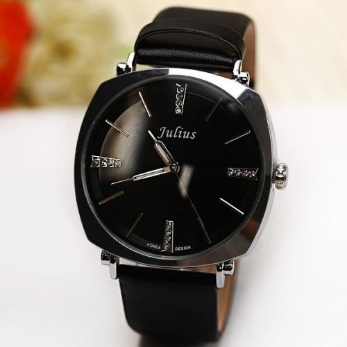 นาฬิกา Julius คุณภาพดี สีดำ สวย ดูดี มากๆ