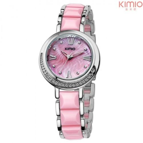 KIMIO สวยเก๋ สีชมพู น่ารักมากๆสดใส สวยหวาน แฟชั่น