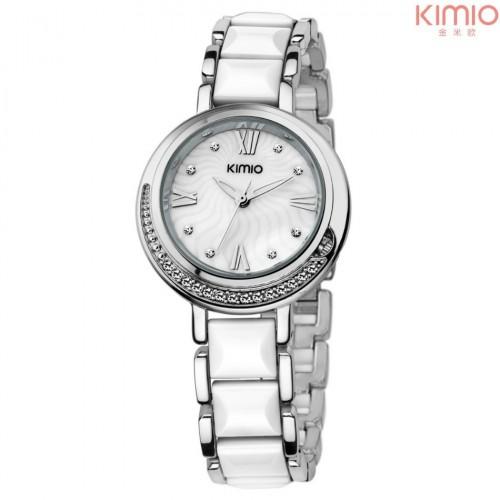 KIMIO สวยเก๋ สีขาว น่ารักมากๆสดใส สวยหวาน แฟชั่น