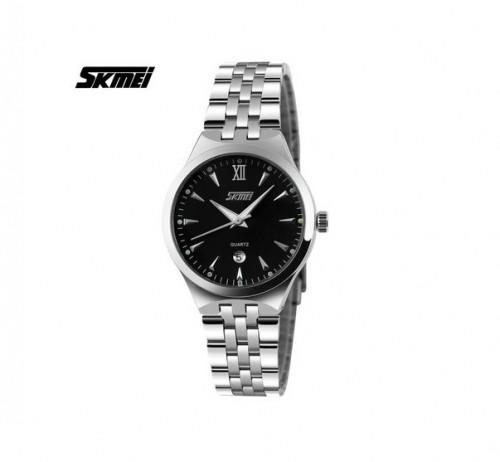 นาฬิกาสวย SKMEI สีดำ คุณภาพเยี่ยม เข็มเรืองแสง