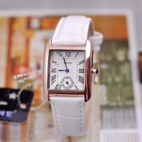 นาฬิกาสายหนัง KEZZI สวยๆ สีขาว