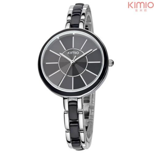 นาฬิกาแฟชั่น KIMIO สีดำ สวยน่ารัก ดูดี