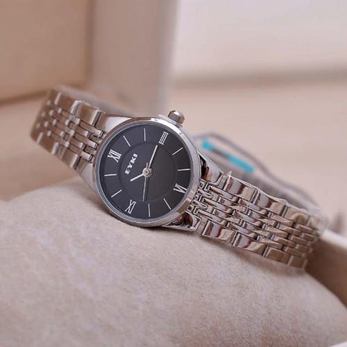 นาฬิกา EYKI สีดำ คุณภาพดี หน้าปัดเล็ก