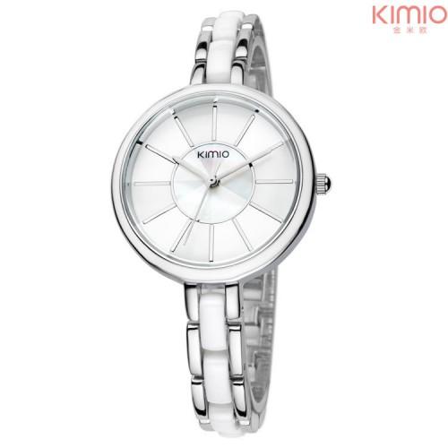 นาฬิกาแฟชั่น KIMIO สีขาว สวยน่ารัก ดูดี