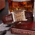 นาฬิกาสายหนัง KEZZI สวยๆ สีน้ำตาล