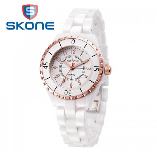 นาฬิกา SKONE สวยหรู มีสไตล์สุดๆ หน้าปัดขอบ rose gold