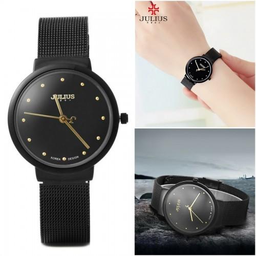 นาฬิกา Julius สีดำ สวยหรู ดูดีมีสไตล์มาก