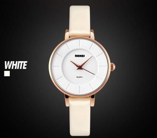 นาฬิกาสายสีขาว SKMEI สวยสดใส เรียบง่าย แต่สวยดูดี