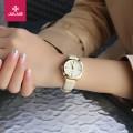 นาฬิกาคุณภาพดี สีขาวขอบทอง แบรนด์ Julius สวย ดูดี สไตล์เกาหลี