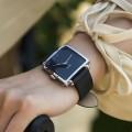 นาฬิกาสีดำ จาก Julius หน้าปัดเหลี่ยมสวยมาก ดูดีสุดๆ