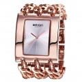 นาฬิกา WEIQIN สีทองชมพู สวยหรู เหมาะกับการใส่ออกงานมากๆ