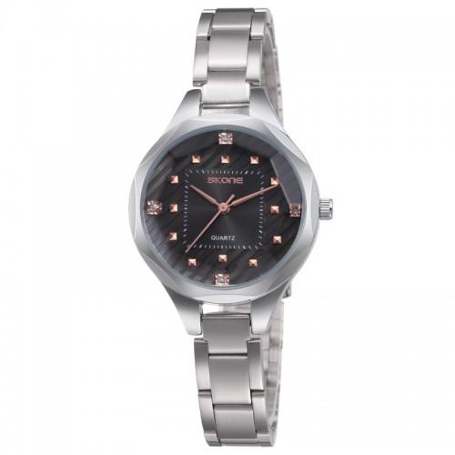 นาฬิกาหรู SKONE สีดำ สวย หรูหรา แฝงด้วยความหวาน