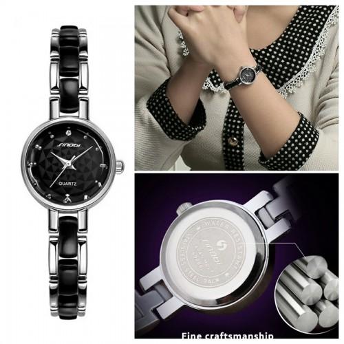 นาฬิกาสวยหรู สีดำ SINObi ดูดี แถมน่ารักสุดๆ