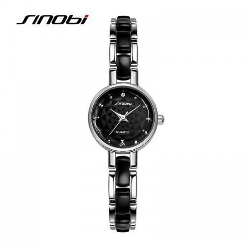 นาฬิกา SINObi สีดำ สวยหรู ดูดี แถมน่ารักสุดๆ
