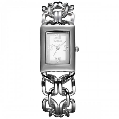 นาฬิกา WEIQIN สาย design สร้อยสีเงิน สวยมาก
