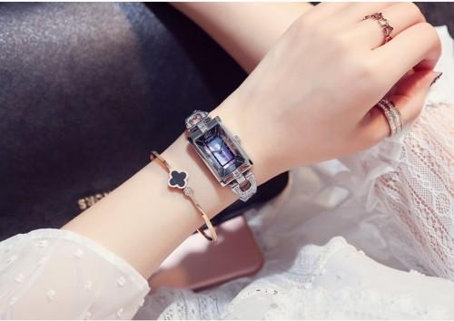 นาฬิกา Julius พื้นหน้าปัดสีดำ+น้ำเงินประกายมุข สวยหรูสุดๆ