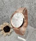 นาฬิกา Mini Focus สีพิงค์โกลด์ ดีไซน์เรียบหรู คลาสสิค ดูมีระดับ