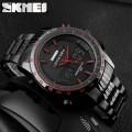 นาฬิกา SKMEI สองระบบ Analog + Digital สีดำแดง งานคุณภาพดี