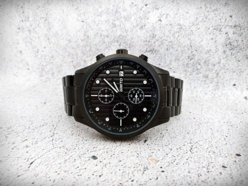 นาฬิกา GIMTO เรือนดำเข็มสีขาว คุณภาพพรีเมียม สวยหรูมาก