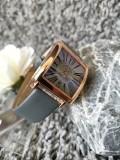 นาฬิกาสีเทา จาก GUOU หน้าปัดเหลี่ยม ลายหน้าปัดสวยมากๆ