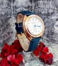 นาฬิกา GUOU สายหนังสีฟ้า สวยหรูมาก งานพรีเมียม