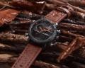 นาฬิกา NAVIFORCE สายหนังสีน้ำตาล สวยเท่ห์ คุณภาพเยี่ยม