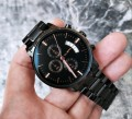 นาฬิกา CUENA หน้าปัดสีดำ สายดำ สวยหรู คุณภาพเยี่ยม
