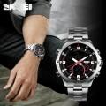 นาฬิกายี่ห้อ SKMEI สองระบบ Analog + Digital หน้าปัดดำ
