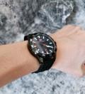 นาฬิกา MiniFocus สายยางคุณภาพเยี่ยม เรือนสีดำ