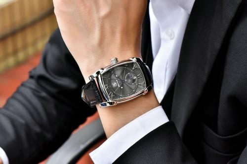 นาฬิกา BENYAR พรีเมียม เรือนสีดำคุณภาพดี หน้าปัดสวยงามมาก