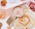 นาฬิกา Daybird สีพิงค์โกลด์ หน้าปัดสวยมาก ลายนูน 3 มิติ