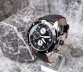 นาฬิกา MEGIR สายหนังแท้สีดำ รายละเอียดสวยงาม