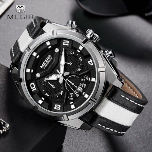 New-MEGIR-Military-Sport-Men-Watches-Creative-Leather-Strap-Chronograph-Calendar-Dial-Top-Brand-Fashion-Men2