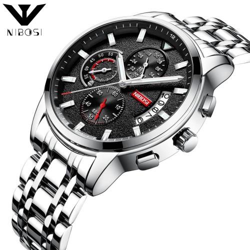 NIBOSI-Fashion-Watch-Men-Waterproof-Slim-Mesh-Strap-Minimalist-Wrist-Watches-For-Men-Quartz-Sports-Watch