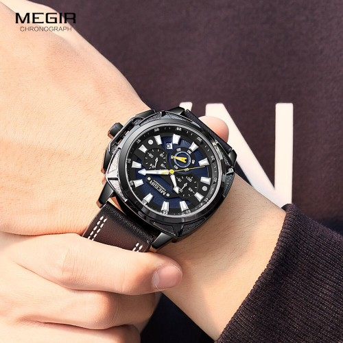 MEGIR-Men-Military-Sport-Watches-Luxury-Waterproof-Wristwatch-Man-Relogio-Masculino-Casual-Leather-Chroncograph-Quartz-Watch