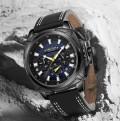 นาฬิกาสุดเท่ห์จาก MEGIR หน้าปัดน้ำเงิน คุณภาพระดับพรีเมียม