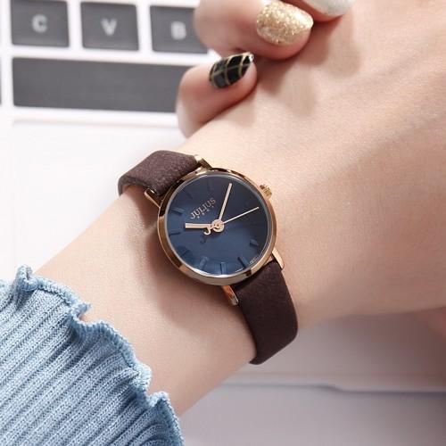 นาฬิกาแบรนด์ Julius สีน้ำเงิน หน้าปัดสวยหรูมาก