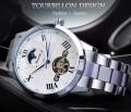 นาฬิกาออโต้ Forsining หน้าปัดสีขาว สุดหรู