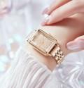 นาฬิกา Daybird หน้าปัดลายสวยสีทอง สวยหรูมากๆ