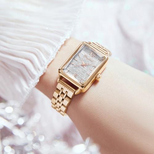 นาฬิกา Daybird หน้าปัดลายสวยสีเงิน สวยหรูมากๆ