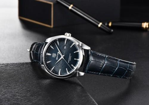 นาฬิกา BENYAR งานพรีเมียม สีน้ำเงินเข้มคุณภาพดี หน้าปัดหรูมาก