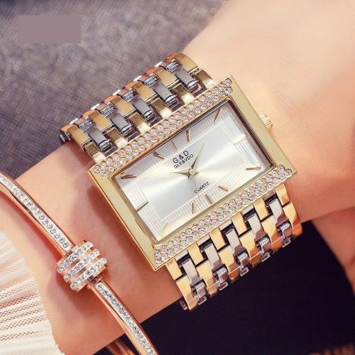 นาฬิกา G&D สุดหรูสีทองเงิน สองกษัตริย์ สวยงามมาก