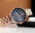 นาฬิกาแบรนด์ SKMEI หน้ามุกสีดำดีไซน์สวยหรู